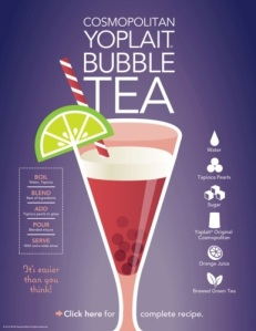 pr newswire cosmo bubble tea made with yoplait